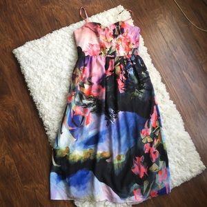 CoreyLynnCalter (Anthro) Sleeveless Floral Dress